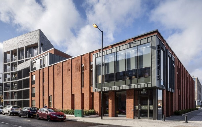 New Gorbals Housing Association Offices Glasgow