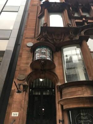 Hatrack Building Glasgow facade