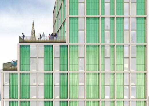 Vienna House Hotel in Glasgow building facade