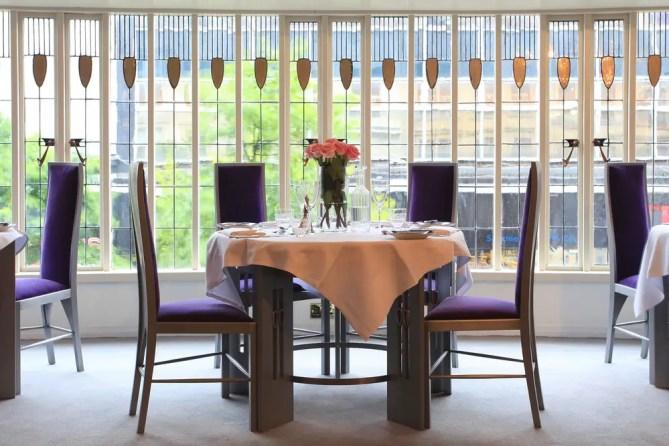 Willow Tea Rooms Glasgow building interior