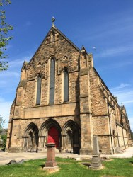 Govan Old Parish church building south frontage