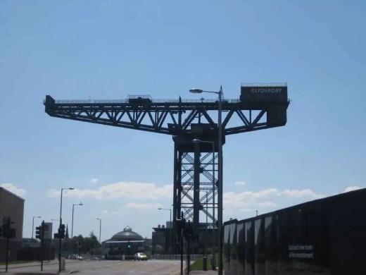Finnieston Crane Glasgow structure