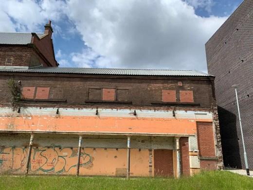 Whitevale Baths Glasgow east end