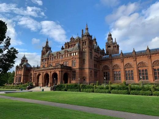 Kelvingrove Gallery Glasgow building