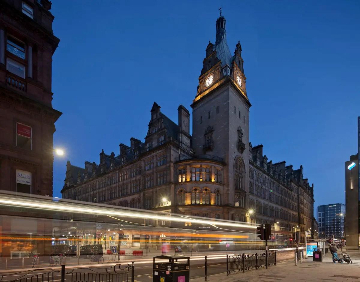 voco Grand Central Glasgow Hotel Building