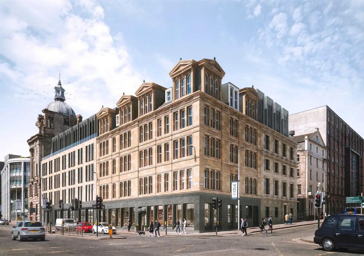 HMH One Clyde Glasgow Hotel Broomielaw design