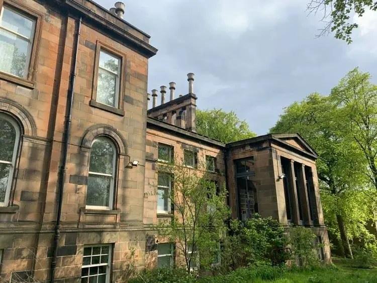 Lilybank House Glasgow University building