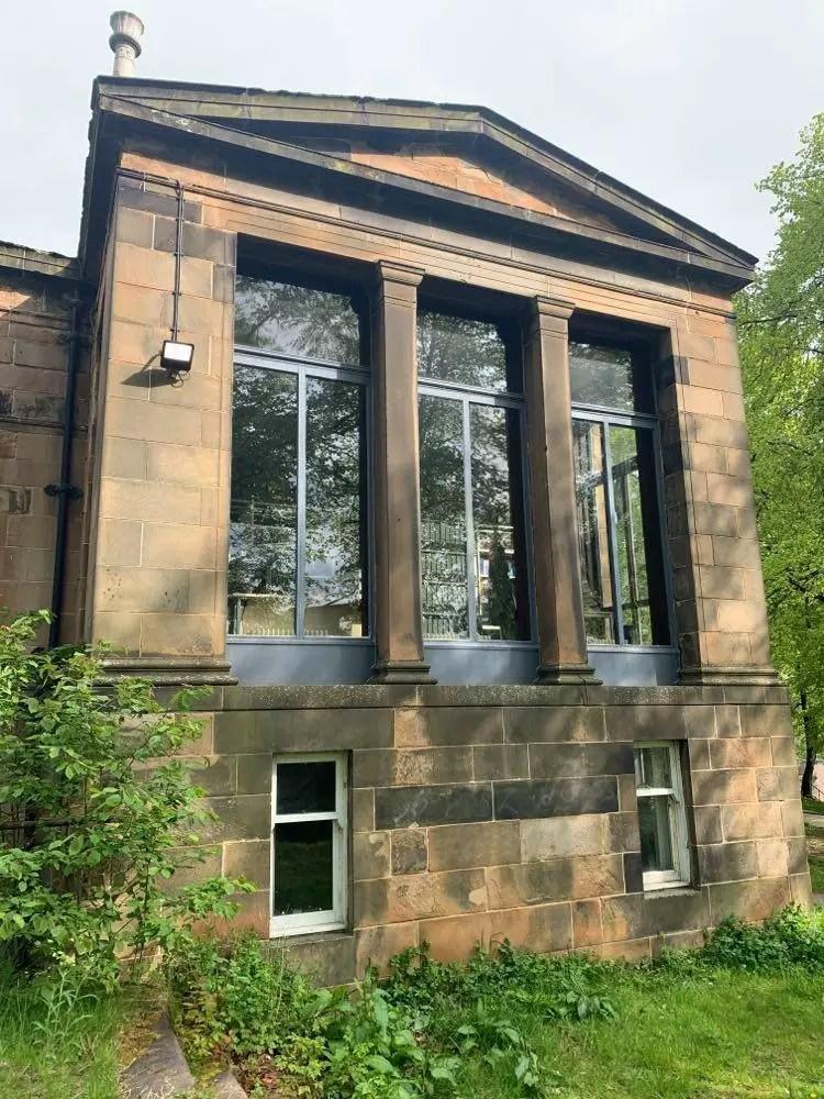Lilybank House Glasgow University by Alexander Thomson