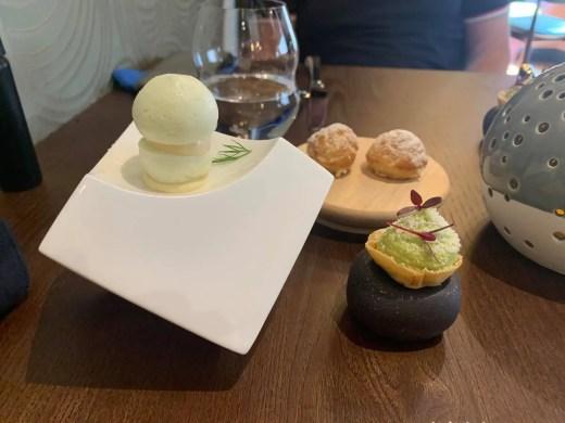 Unalome Restaurant Finnieston canapes food