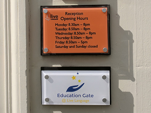 signs-glasgow-external-acrylic-sign - Glasgow Creative