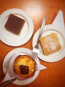 Central cafe Barrhead sweet treats