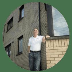 Alan MacDonald proprietor of Glasgow Green Apartments