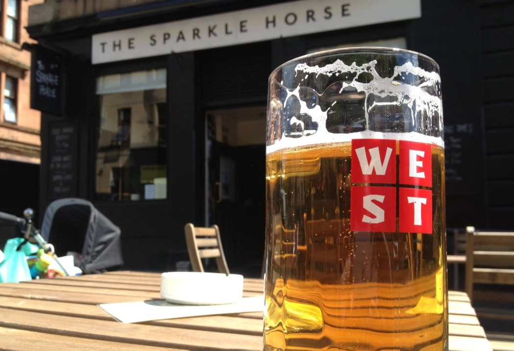 Best Of Glasgow A Pint At The Sparkle Horse Glasgowist