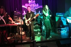 Deeper Purple at the Hard Rock Cafe Glasgow