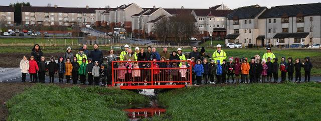 Greater Easterhouse Green Infrastructure Project Now Complete