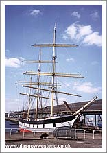 The Glenlee at Glasgow Harbour