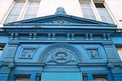 Photo: blue arch.