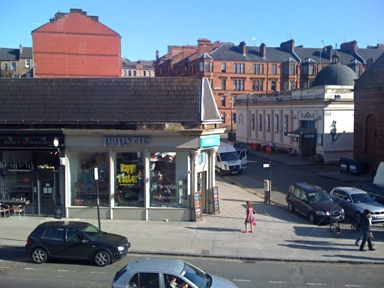 Photo: Byres Road March 2012.