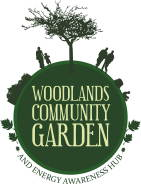 Photo: community garden logo.