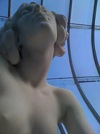 Photo: Elf Statue in Botanic Gardens.