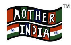 Photo: mother india logo.