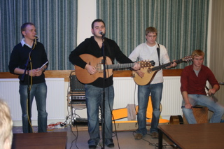 Photo: paul mckenna band.
