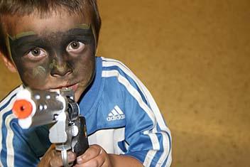 Photo: Young guns play.