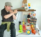 Photo: toy orchestra musician.