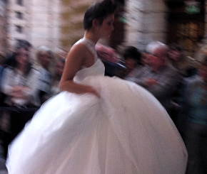 Photo: wedding dress.