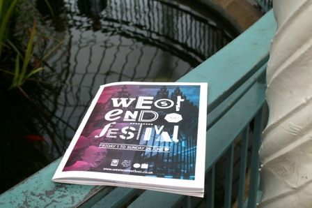 Photo: West End Festival Brochure Launch.