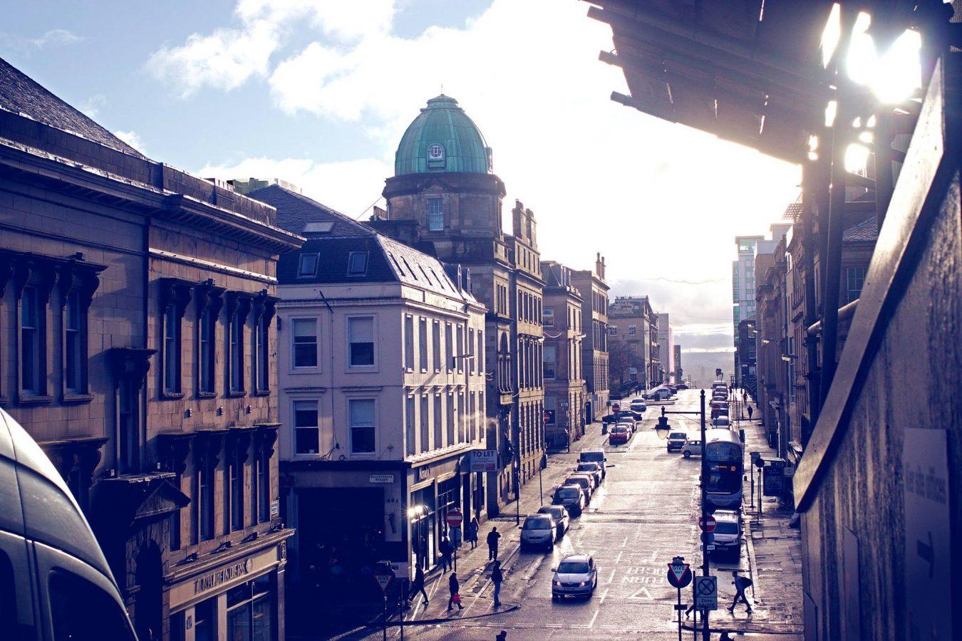 View of Glasgow Street