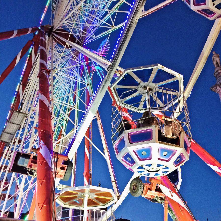 Big Wheel at the Glasgow Winter Festival