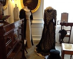 Vintage dress and room