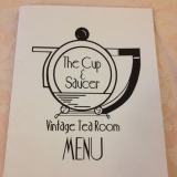 <h5>The Cup & Saucer Vintage Tea Room</h5>