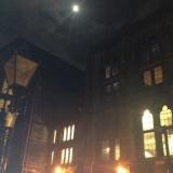 <h5>University at Night</h5>