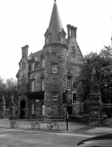 <h5>Part of Original University in High Street </h5>