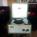 <h5>Dansette Record Player</h5>