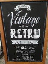 <h5>Alison's Vintage and Retro, Creswell Lane</h5>