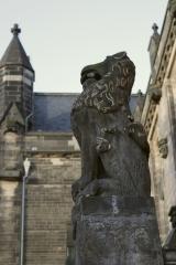 <h5>Lion and Unicorn Stairway Glasgow Uni</h5>