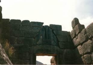 009 Lyon Gate Mycenae Holiday with Abi