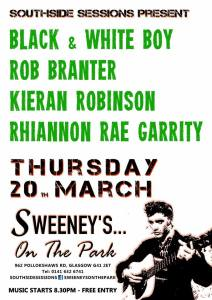 sweeneys in th epark, 20 mar