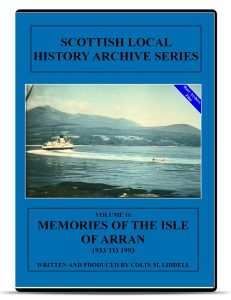 Memories of the Isle of Arran DVD front