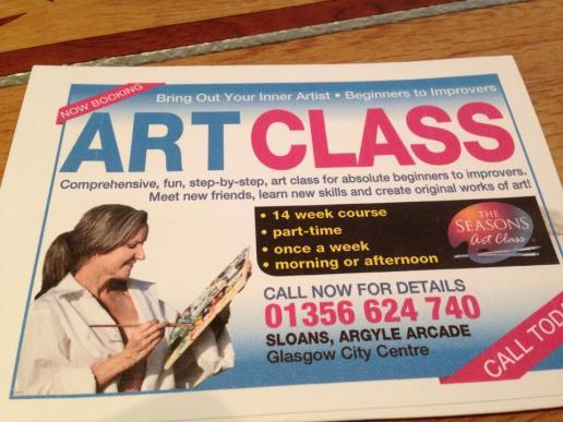 art class sloans