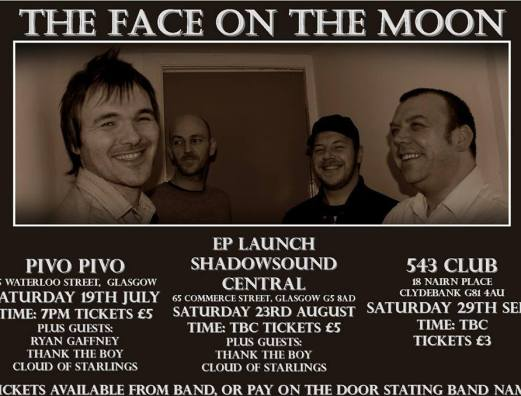 the face of the moon gigs