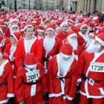 Santa Dash Glasgow, 10 December, 2017