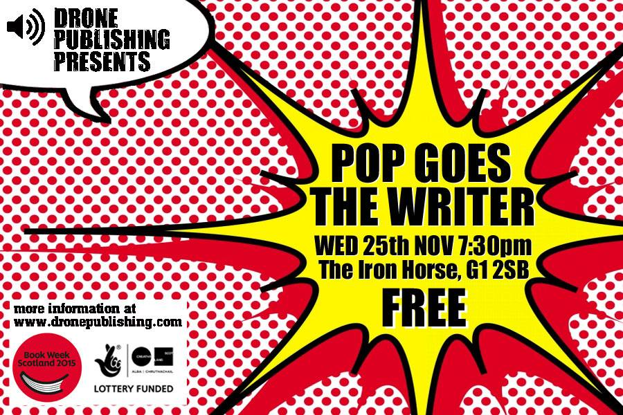 POP GOES THE WRITER