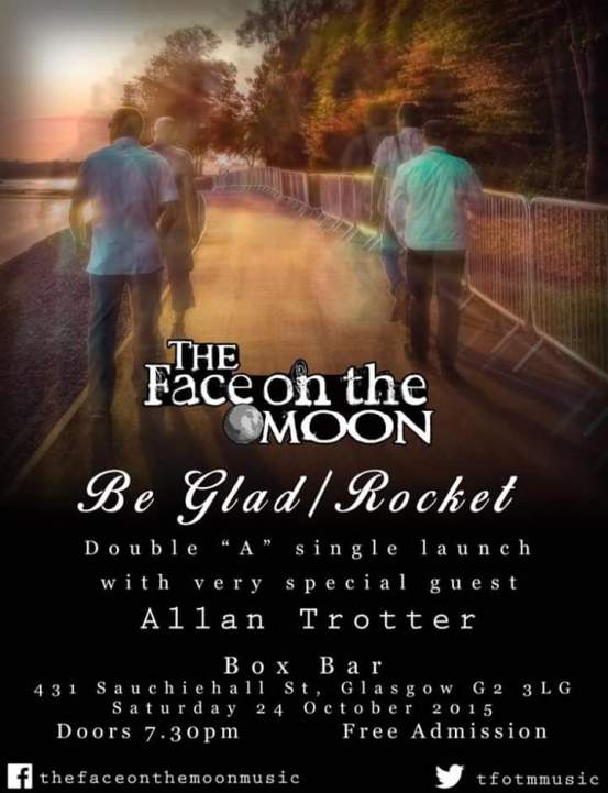 the face on the moon single launch