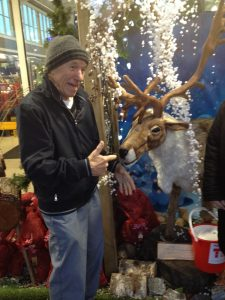 Dad and Reindeer