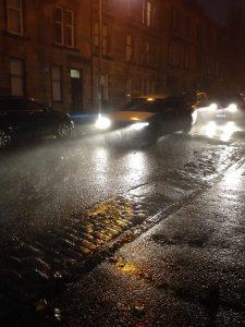 Rain Storm Glasgow