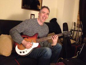New Danelectro 12 string guitar
